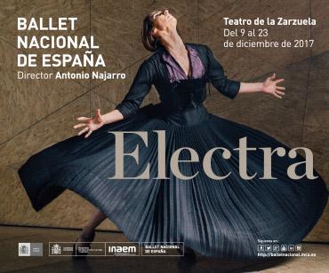 Ballet Nacional de España estrena Electra en Madrid, Teatro de la Zarzuela