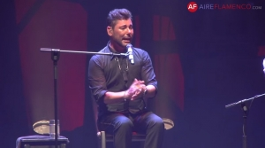 Miguel Poveda en el Festival Internacional del Cante de Las Minas