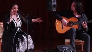 Montse Cortés por soleá en el Auditorio Nacional