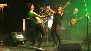 El baile de Tomasito y La Reme de Las Negris