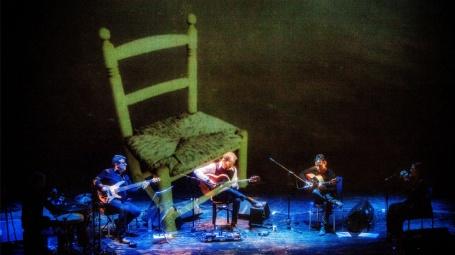 La guitarra flamenca de José Antonio Rodríguez en la cámara de José Carlos Nievas