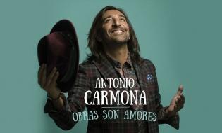 Antonio Carmona es Número 1 en iTunes con Obras son Amores