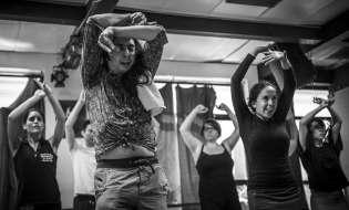 El baile en los Veranos Flamencos de Amor de Dios