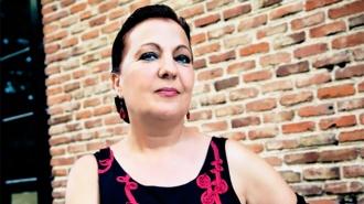 Carmen Linares y Javier Ruibal en la presentación del nuevo disco de Flamenco Kids