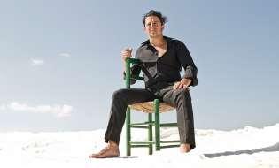 David Palomar, carnavalero pregonero flamenco del Carnaval de Cádiz