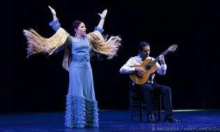 El cante flamenco de Rocío Bazán en Brasil, Argentina y Uruguay