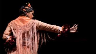 El baile de María Moreno en Cádiz por el Día del Flamenco