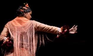 El baile flamenco de María Moreno en Tokio