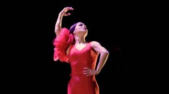 El baile de Olga Pericet en Festival Flamenco Alburquerque 2019