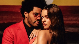 El flamenco de Rosalía con The Weeknd en Blinding Lights